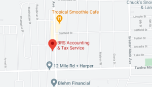 BRS Accounting Map